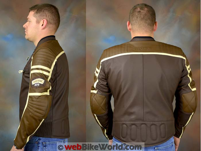 iXS Curtis Jacket Side and Rear Views