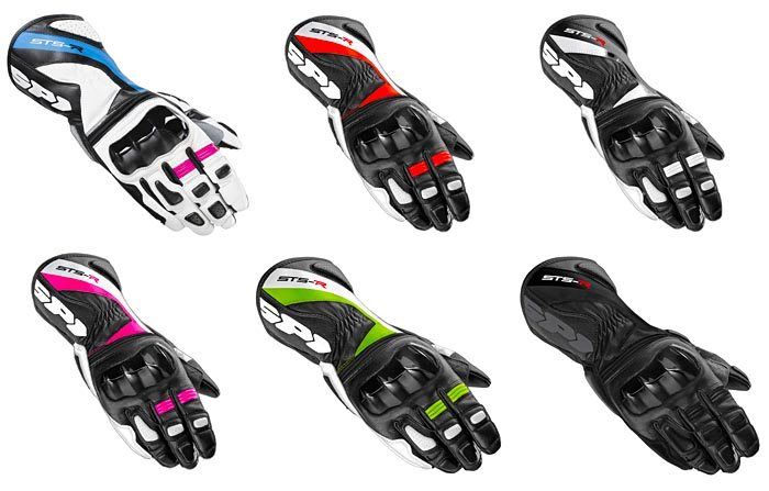 Spidi STS-R Glove Colors
