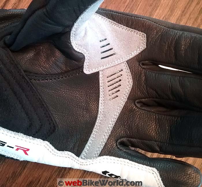 Spidi STS-R Gloves Palm Close-up