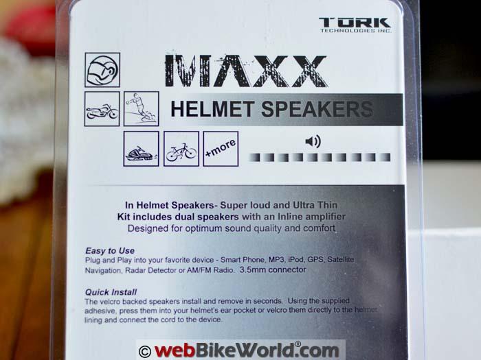 Tork Maxx Speaker Kit
