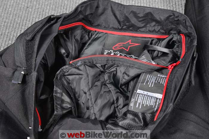 Alpinestars Raider Pants Liner