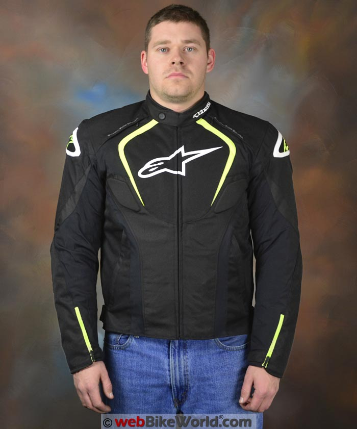 Alpinestars T-Jaws Jacket Front View