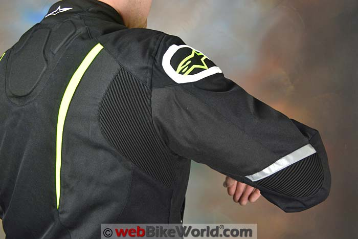 Alpinestars T-Jaws Jacket Rear Shoulder