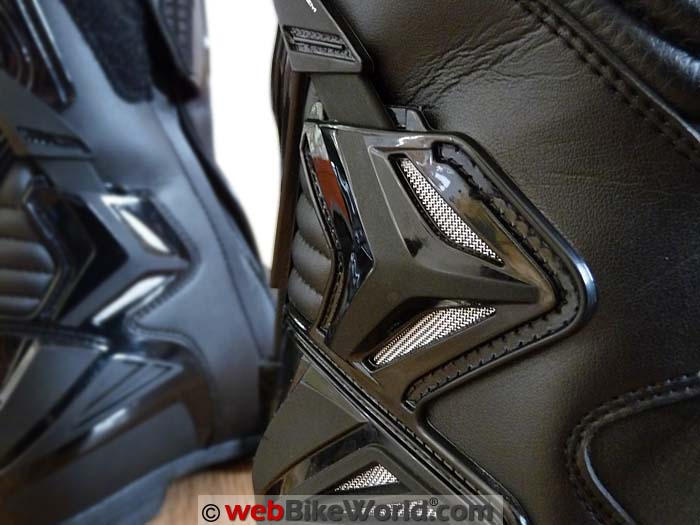 TCX S-Speed Boots Rear Vent Close-up