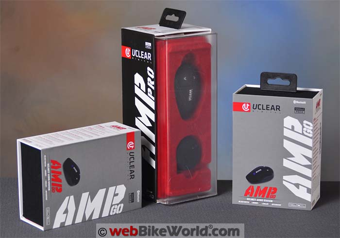 UClear AMP Go and AMP Pro Intercoms