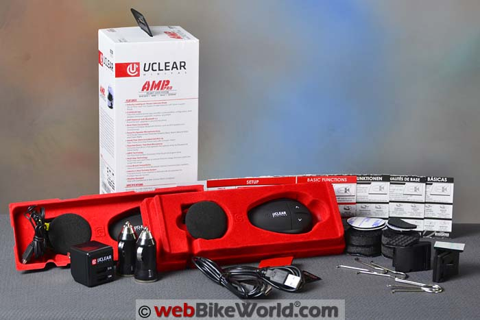 UClear AMP Pro Kit Contents