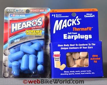 20 PAIR PACK EAR PLUGS Orange Soft Foam  NRR33 SLEEP AID EARPLUGS Bulk Lot