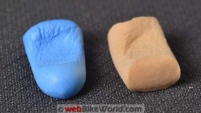 Hearos vs. Macks Ear Plugs Squished