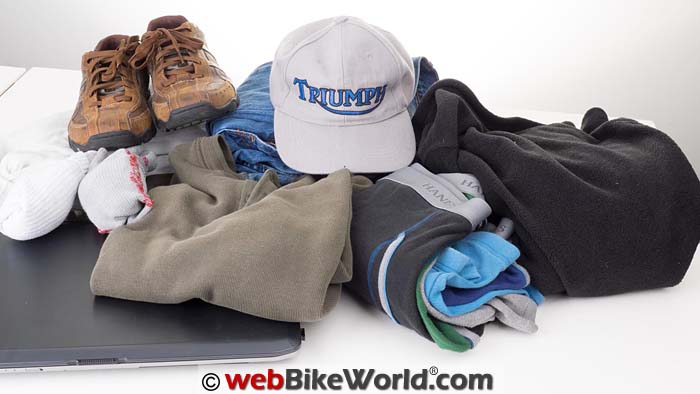 Kriega Backpack Contents