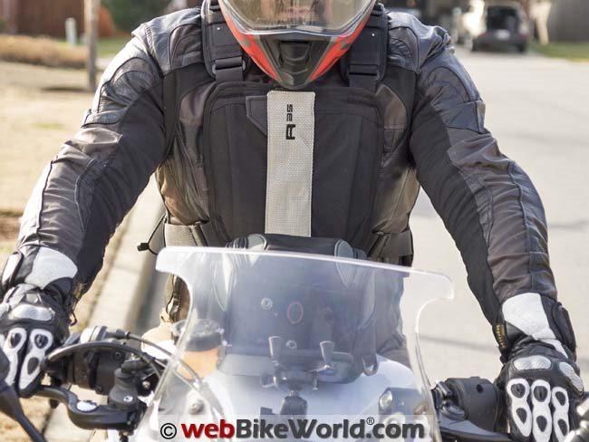 BAG KRIEGA R35 MOTORCYCLE BACKPACK RUCKSACK