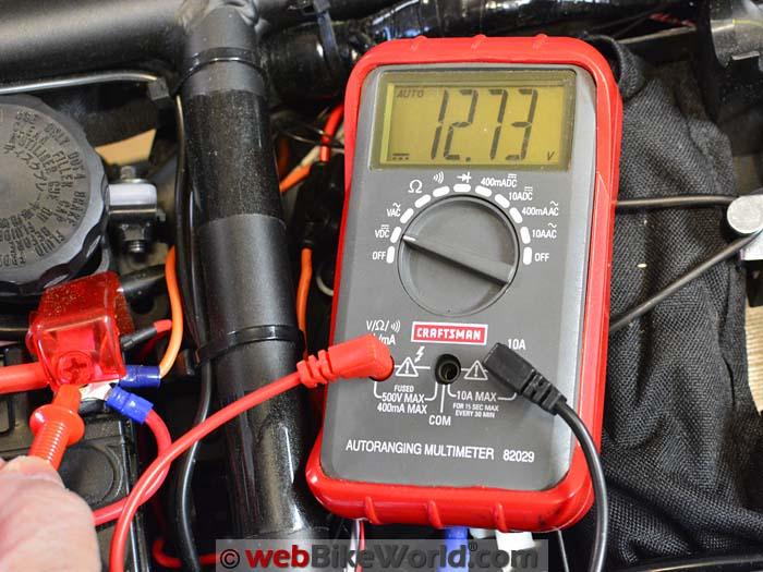 Multi Meter Battery Tester