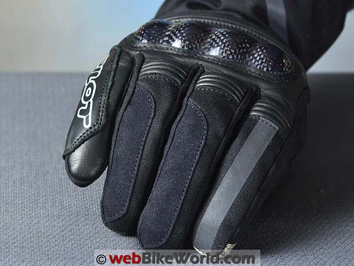 Pilot Obsidian Gloves Fingers