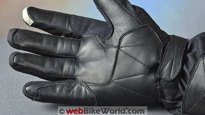 Pilot Obsidian Gloves Palm