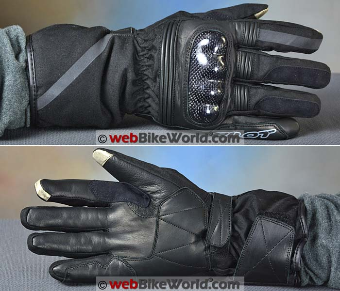 Pilot Obsidian Gloves Top Palm