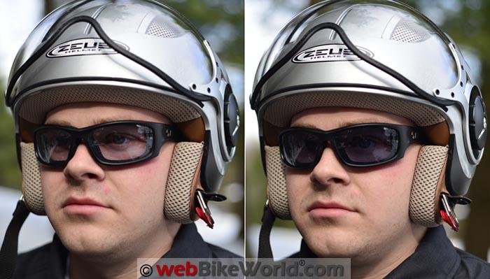7Eye PanHead Sunglasses on Rider
