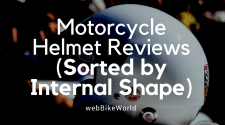 Motorcycle Helmets - Sorted by Internal Shape