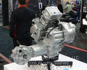 Piaggio 500cc engine