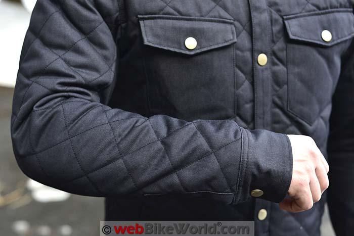 REV'IT! Westport Overshirt Sleeve Cuffs