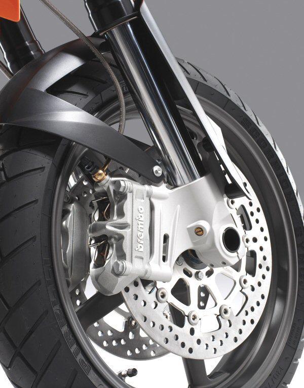 KTM 950 Supermoto Front Wheel