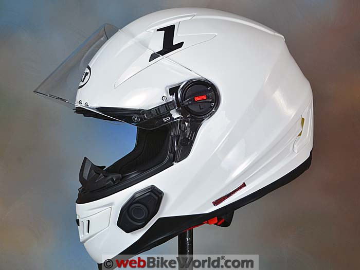 Bilt Techno 2.0 Bluetooth Helmet Side View