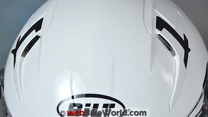 Bilt Techno 2.0 Helmet Top Vents