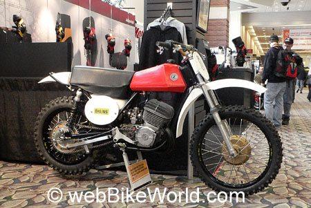 1973 CZ Motocross Bike