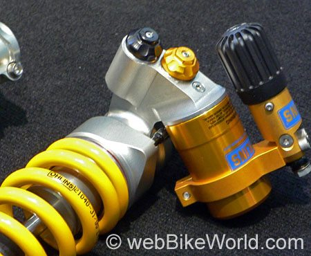 Öhlins MotoGP Rear Shock Reservoir