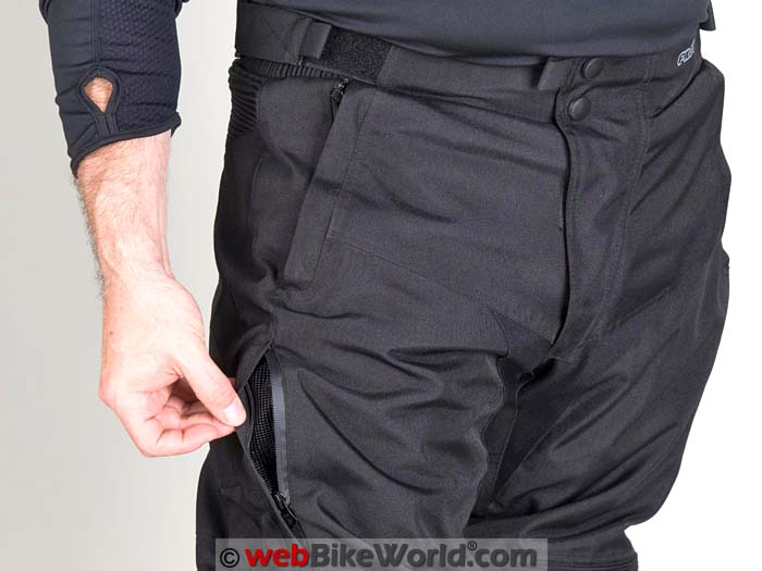 Pilot Dura Over Pants Leg Zipper
