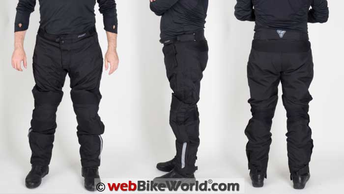 Pilot Dura Overpants Front Side Rear Views