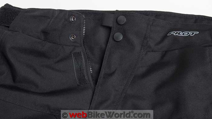 Pilot Dura Overpants Main Entry Snaps