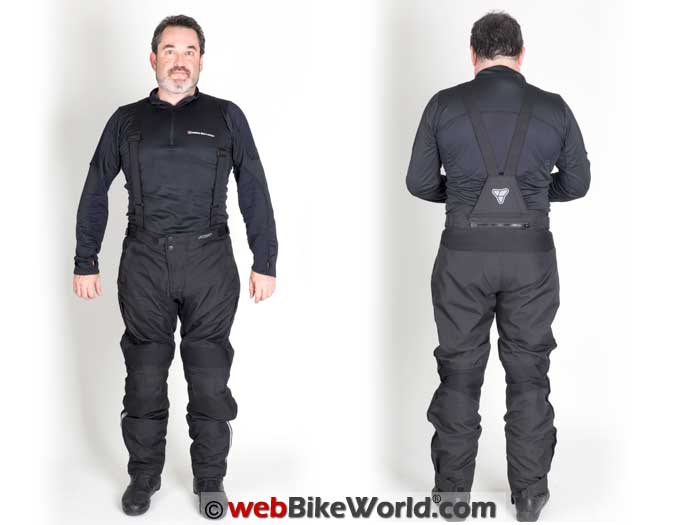 Pilot Dura Overpants With V-Brace Suspenders