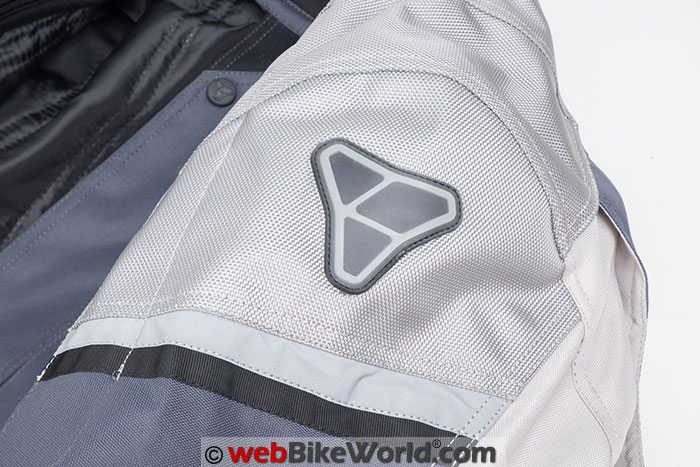 Pilot Trans-Urban Jacket V2 Shoulder Logo Reflector
