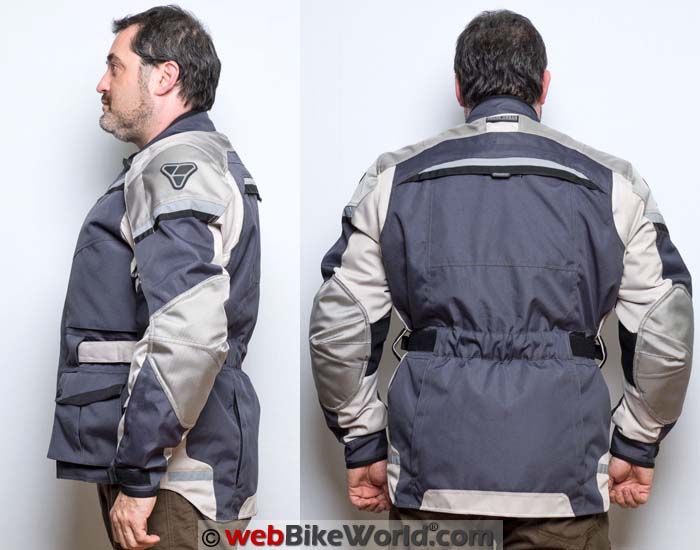 Pilot Trans-Urban Jacket V2 Side and Rear Views