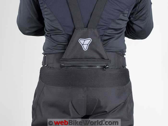 Pilot V-Brace Suspenders Zipper