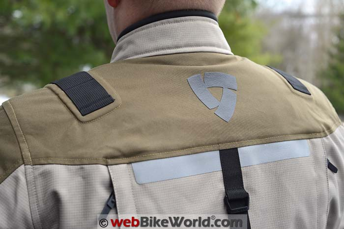 REV'IT! Sand II Jacket Rear Shoulders
