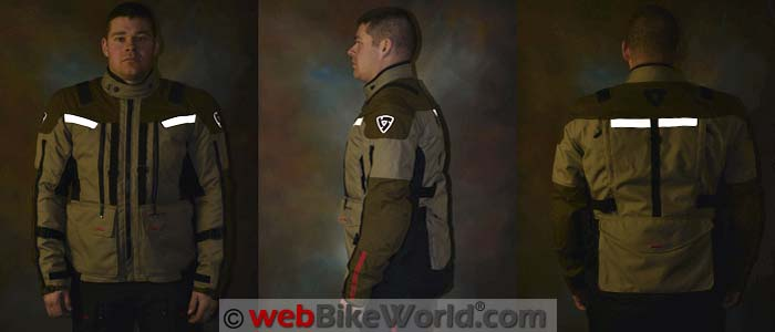 REV'IT! Sand 3 Jacket Reflectivity