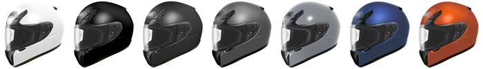 Shoei RF-SR Helmet Colors