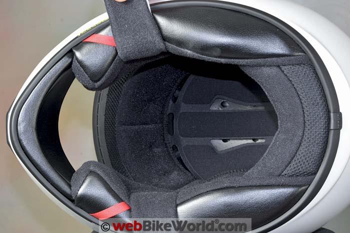 Shoei RF-SR Helmet Liner