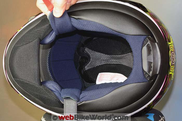 Arai Signet-X Helmet Liner
