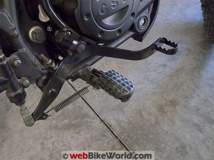 CSC TT250 Brake Lever