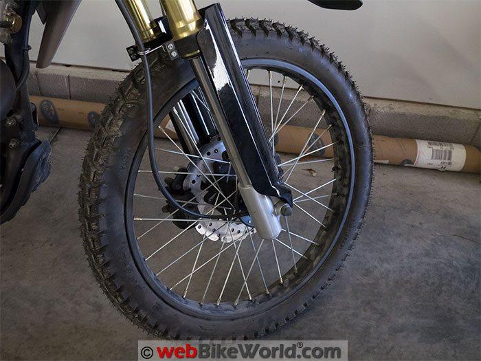 CSC TT250 Front Wheel