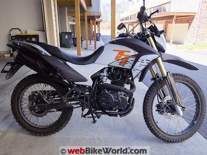 CSC TT250 Motorcycle