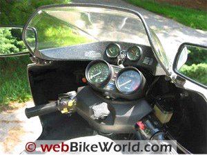 BMW R100RS Dashboard