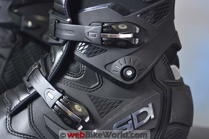 Sidi Adventure 2 Gore-Tex Boots Buckle Close-up