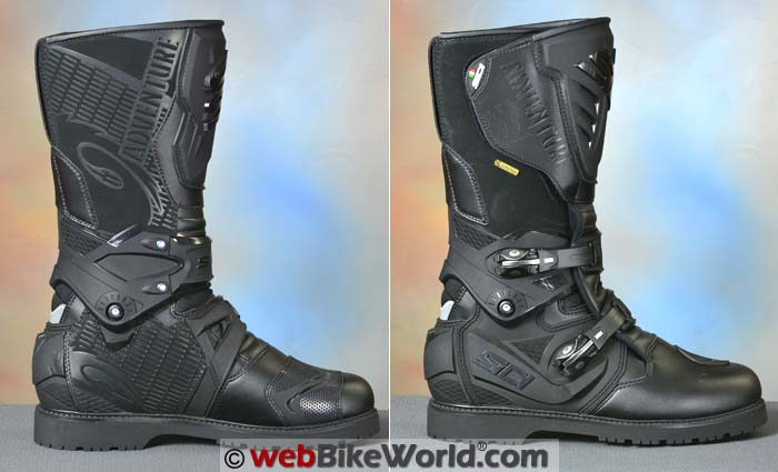 Sidi Adventure 2 Gore-Tex Boots Two Views