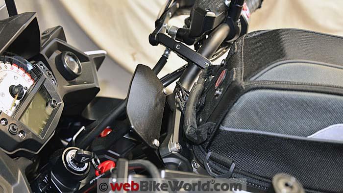 Kawasaki Versys Handlebar Risers Interference