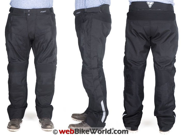 Pilot Omni Air Over Pants V2 Front Rear Views