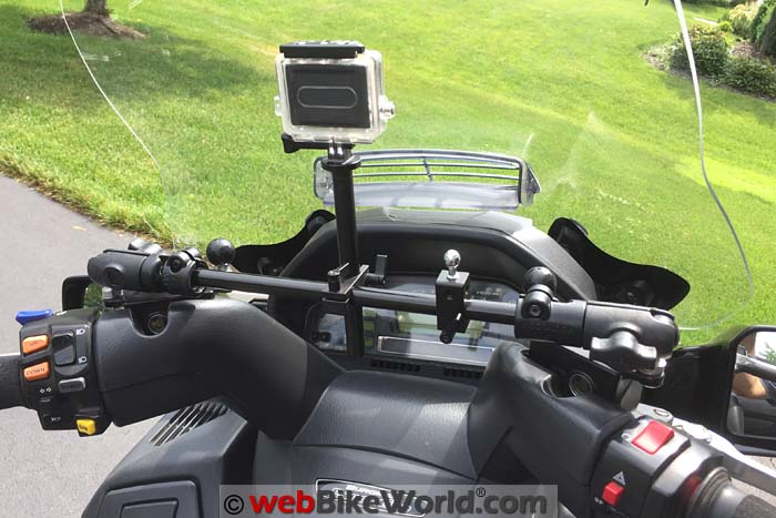 RAM Mounts on Motorcycle