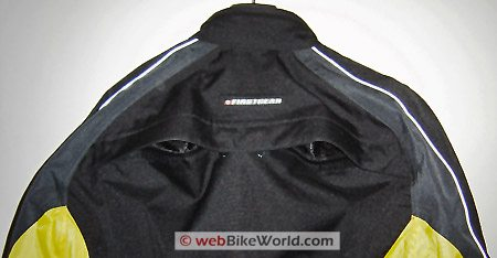 Firstgear Jaunt Jacket Rear Vent