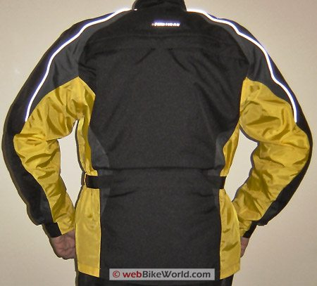 Firstgear Jaunt Jacket Rear